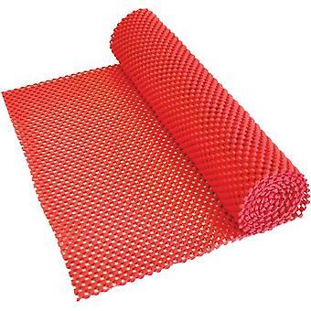 Aidapt anti-slip mat rood - voor lade, dienblad, vloer