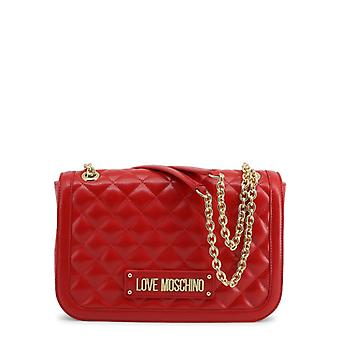 Amore moschino donne's borsa a tracolla - jc4000pp18la, rosso