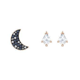 Set Swarovski örhängen 5494353-M tal dor Rose th me Night kvinnors Tincing kristaller