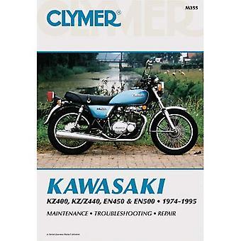Kawasaki KZ400, KZ/Z440, EN450 and EN500 1974-1995: Clymer Workshop Manual