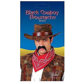 Wicked Costumes Cowboy Tash - Black