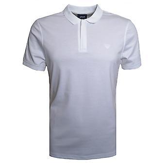 Armani Jeans menns hvit Polo skjorte