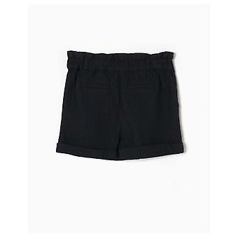 Zippy Textured Shorts