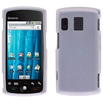 Sprint Gel Case for Sanyo Zio SCP-8600 - Clear/White