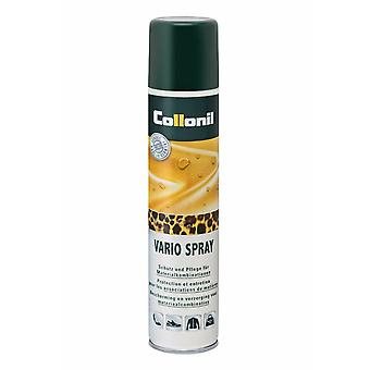 Collonil Vario Waterproof Spray leather, metallic, fur, material Combinations