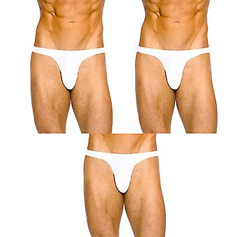 Harry narrow front brief white multipack