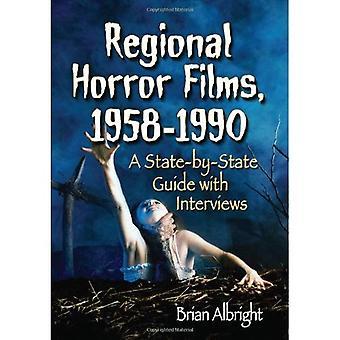 Regionální hororové filmy, 1958-1990