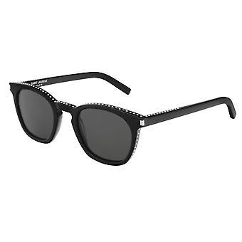 Saint Laurent SL 28 037 Black/Grey Sunglasses