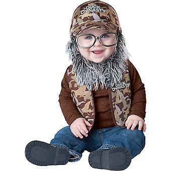 Duck Dynasty Uncle Si Toddler Costume