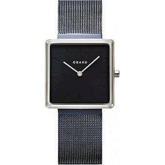 OBAKU - Wristwatch - Women - KVADRAT-ARCTIC - V236LXHLML