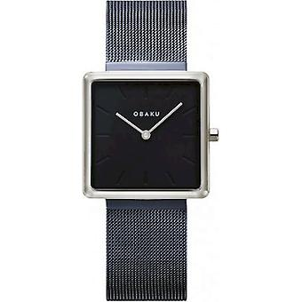 OBAKU - Montre-bracelet - Femmes - KVADRAT-ARCTIC - V236LXHLML