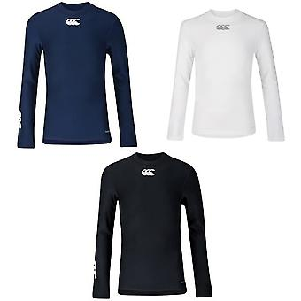 Canterbury barn/barn lång ärm ThermoReg Base Layer topp