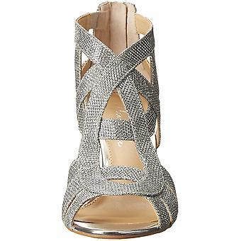 Marc Fisher Womens nala3 Tissu Peep Toe Casual Ankle Strap Sandales