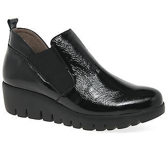 Wonders Bilbao Womens Wedge Heel Chelsea Boots
