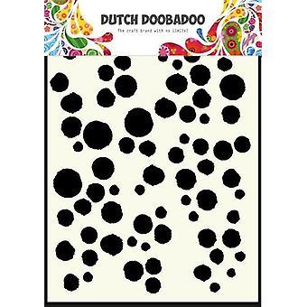 Hollannin Doobadoo A5 naamio taidetta kaavain - Grunge pisteitä #715101