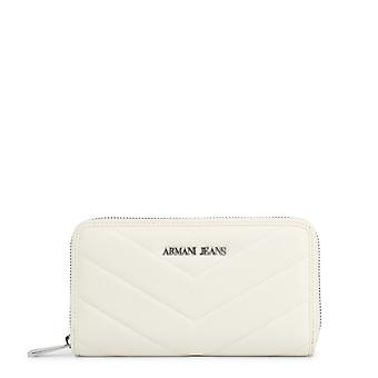 Armani Jeans Original Women All Year Wallet White Color - 58062