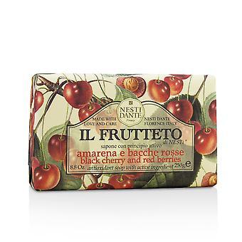Il frutteto jabón antioxidante cereza negra y bayas rojas 213118 250g/8.8oz