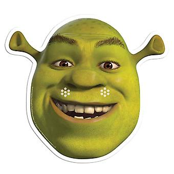 Shrek Single Card Party Fancy Dress Mask