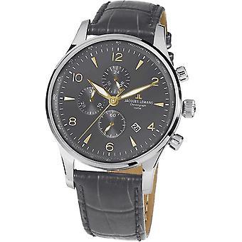 Jacques Lemans - Wristwatch - Men - London - Classic - 1-1844ZI