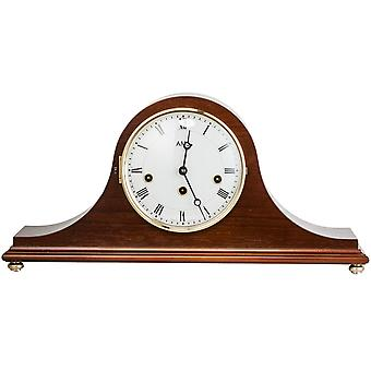 AMS 2193/1 Table clock chimney clock mechanical wood walnut colors