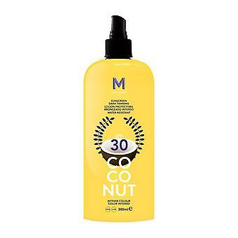 Sun Block Coconut Dark Tanning Mediterraneo Sun/Spf 30 - 100 ml