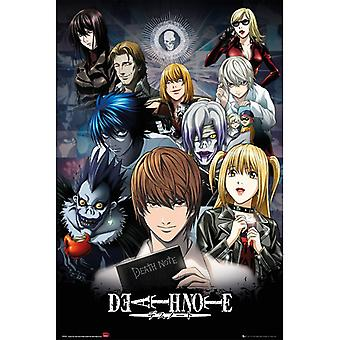 Death Note Collage Maxi Juliste