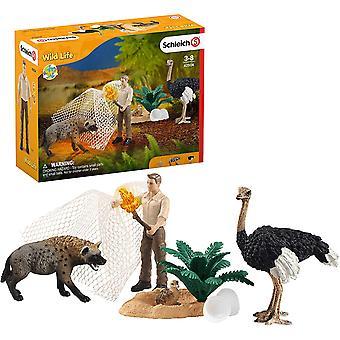 Schleich 42504 Wildlife Hyeena Hyökkäys