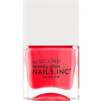 Nails inc 45 Second Speedy Gloss Nail Polish Collection - Parcourir sur Bond Street 14ml