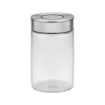 Tramontina Glass Canister With Airtight Seal, 1L