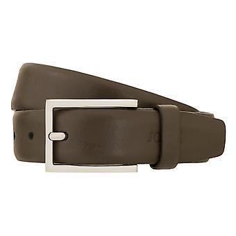 Joop! Bälte herrbälte läderbälte mäns läderbälte brun 2321