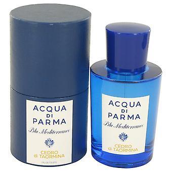 Blu Mediterraneo Cedro Di Taormina Eau De Toilette Spray (Unisex) przez Acqua Di Parma 2,5 uncji Eau De Parfum Spray