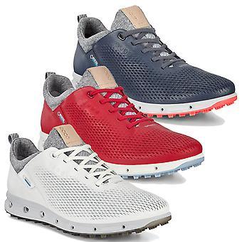 Ecco Womens 2020 Ecco W Golf Cool Pro Couro Impermeável Sapatos de Golfe