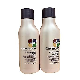 Pureology Pure Volume Travel Conditioner 1.7 OZ Set of 2