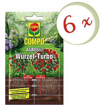 Sparset: 6 x COMPO AGROSIL Root Turbo, 50 g