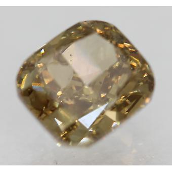 Cert 1.06 Carat Int Brown VS1 Cushion Natural Loose Diamond 5.95x5.34mm 2EX
