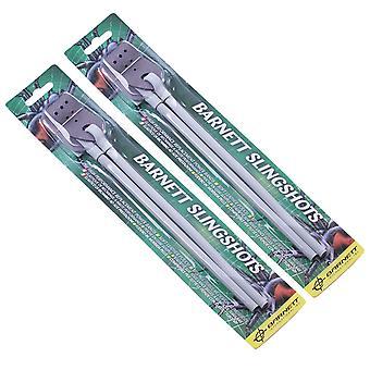 2x Barnett Slingshot elastic - black widow - diablo - Spare catapult Bands