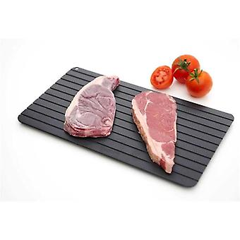 1pc Fast Defrost Tray Fast Thaw Frozen Meat Fish Sea Food Quick Defrosting Plate Board Tray