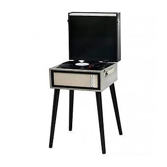 Reproductor de discos Denver Electronics VPL-150BT 2 x 3W USB Bluetooth 4.0 Negro Gris