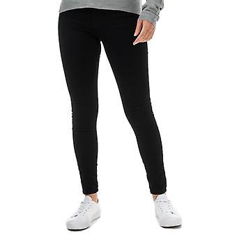 Women's Jacqueline de Yong New Nikki Life High Rise Skinny Jeans in Black