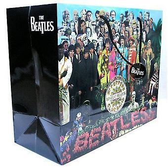 The Beatles Gift Bag Sgt Pepper logo Official Gift Bag (33cm x 26cm x 13cm)