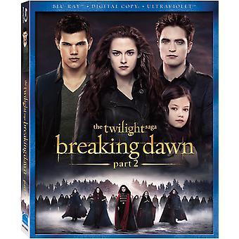Twilight Saga: Breaking Dawn Pt. 2 [BLU-RAY] USA import