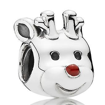 Pandora Red-Nosed Reindeer Charm - 791781EN39