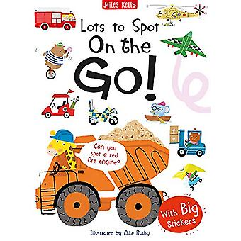 Lots to Spot Sticker Book - On the Go! by Amanda Askew - 9781786178022