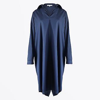 Humilité - Robe swing v-neck - Bleu