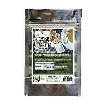 Moringa & organic ginger (tea bags) 30 infusion bags