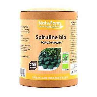 Organic Spirulina 200 tablets