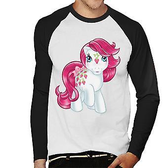 My Little Pony Strawberry Men's Baseball Long Sleeves T-Shirt