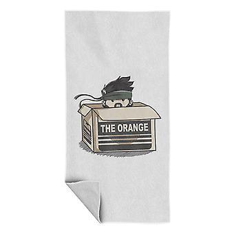 Solide Schlange die Orange Metall Gear Solid Beach Handtuch