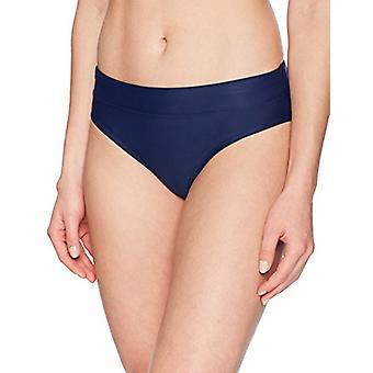 العلامة التجارية - الساحلية الأزرق المرأة & apos;ق ملابس السباحة بيكيني القاع, البحرية, S (4-6)
