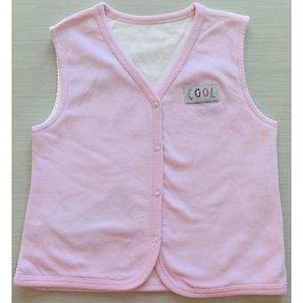 Idilbaby Baby Cool Pink Réversible Sleeveless Vest